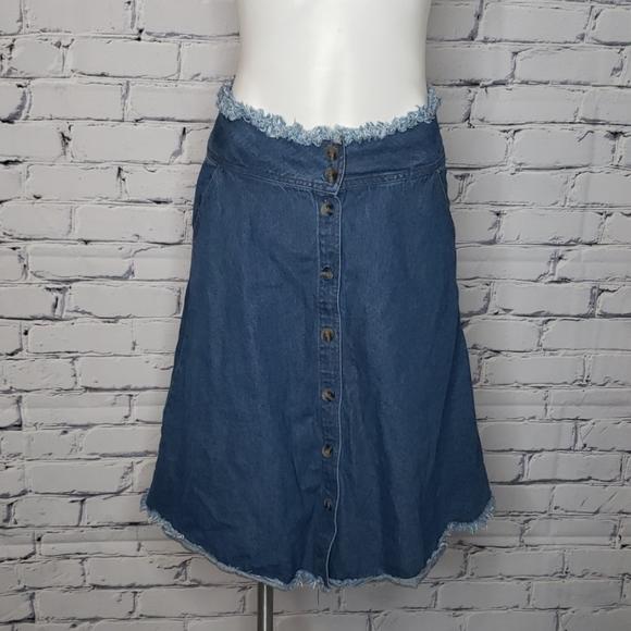 mo : vint Dresses & Skirts - Mo:vint Bluejean Skirt